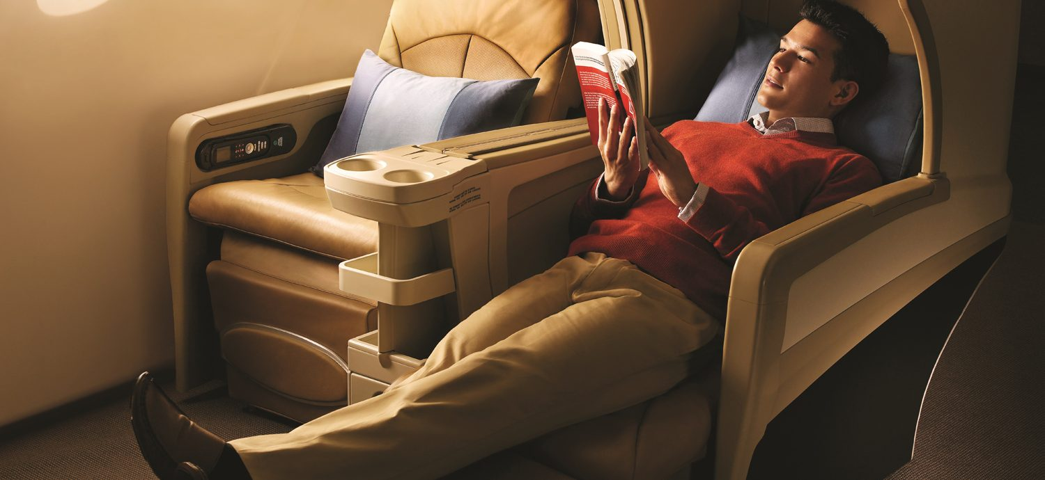 Singapore Airlines A380 – First & Business Class