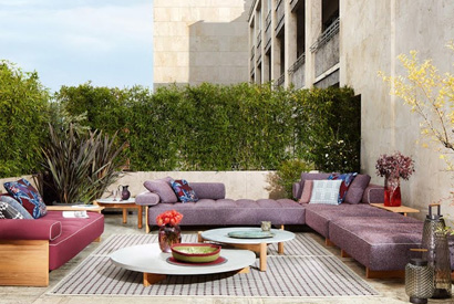 Cassina Perspective Goes Outdoor